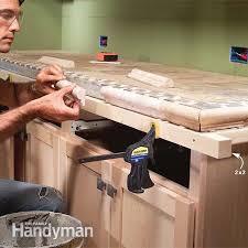 installing tile countertops the family handyman installing tile tile ceramic tile edge trim