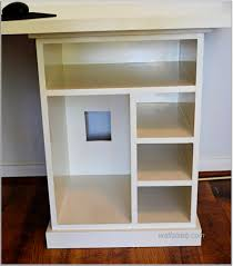 wall mounted shelves desk e2 interior exterior doors design modular white computer with built in rack