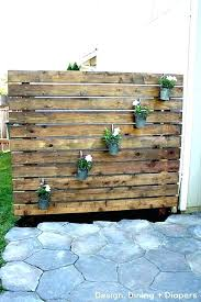 outdoor privacy wall ideas yard and patio home interior decor s
