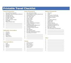 Vacation Packing Checklist Pdf Travel Packing Checklist Template Trip Field Ericremboldt Com