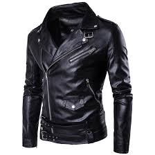 2017 black moto leather jackets for men short cool best designer faux leather blazer mens casual fashion slim coats biker jacket