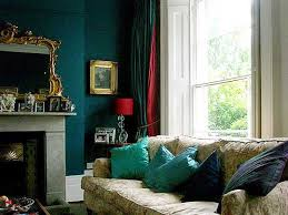 2013 living room color trends. modern interior design color palette glamour living room with blue wall and turquoise pillows 2013 trends 1