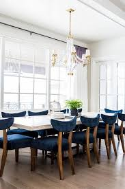 blue dining room.  Dining Gorgeous Dining Room Boasts A White Beadboard Ceiling Accented With  Crystal And Brass Chandelier Large Crystal Cube Chandelier Illuminating  Throughout Blue Dining Room I