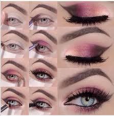 pink y eye makeup tutorial