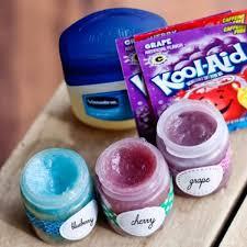 kool aid homemade tint lip balm