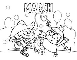 Small Picture March coloring page Coloringcrewcom