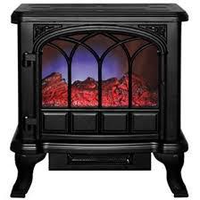 duraflame electric stove heater black