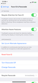"Face feature Appearance"" An Iosbeta ""alternative Setup 12 Ios Id With On"