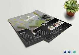 Cleaning Brochure Cleaning Service Flyer Template