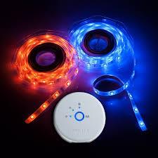 philips 259499 friends of hue personal wireless lighting lightstrip starter pack led bulbs canada