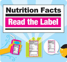Nutrition Chart For Teens Nutrition Facts Label Read The Label Youth Outreach