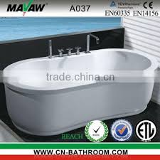 freestanding bath with massage function