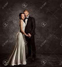 Couple De Mariage La Mari E Et Le Mari Mode Portrait Costume