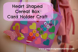 How To Decorate A Valentine Box Pink and Green Mama Recycled Craft Valentine Heart Boxes From 93