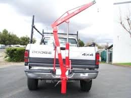 Receiver Hitch Hoist Purchase Lb Pick Up Truck Hydraulic Dock Jib ...