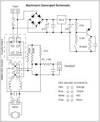 bachmann davenport tips Dcc Decoder Wiring Diagram Dcc Decoder Wiring Diagram #97 dcc decoder circuit diagram