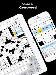 new york times crossword on the app