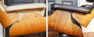 authentic eames lounge chair. The Biggest Difference, Structurally, Between Vintage Knock-offs And Real Thing Is That Plywood Shells On Eames Chair Are Continuous, Authentic Lounge U