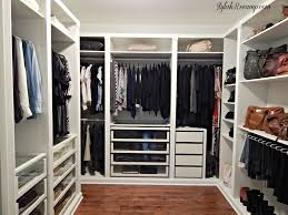 Ikea Walk In Closet Design Diy An Organized Closet Big Or Small With The Ikea Pax