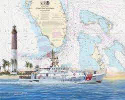 Uscg Cutters Boats Chart Art Prints