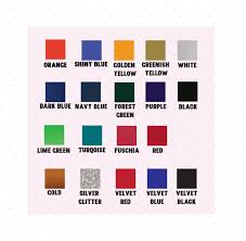 Baby Rompers Color Chart Edia Ink