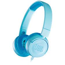 Купить <b>Наушники</b> накладные <b>JBL JR300 Blue</b> (JBLJR300BLU) в ...