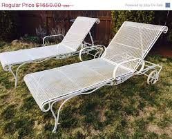 salterini wrought iron furniture. 60 off easter sale vintage wrought iron salterini woodard mesh metal chaise lounge chairs furniture