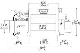 warn winch wiring diagram electric wiring auto wiring diagrams Winch Solenoid Wiring Diagram electric winch wiring diagram and front bumper new warn m8000 in of warn winch wiring diagram