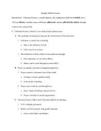 Free Essay Example Argumentative Outlineat Printables Corner