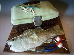 Grooms Cake Fishing
