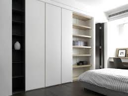 modern white closet doors. Beautiful Modern Modern White Sliding Doors Bedroom Builtin Wardrobe With Closet O