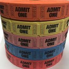 custom roll tickets custom event tickets allamericanwristbands