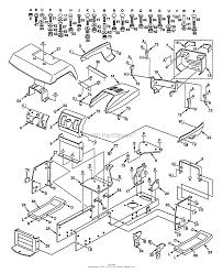 Husqvarna lth 140 hn14h42a 954000642 1994 01 parts diagram
