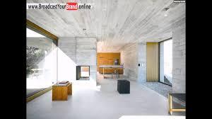 Küche Wohnzimmer Fenster Betonhaus Innenarchitektur Modern