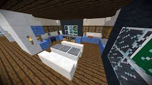 Minecraft Modern Kitchen Detail Modern Kitchen Vanilla Minecraft