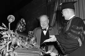 iron curtain speech by winston churchill winston churchill and harry truman