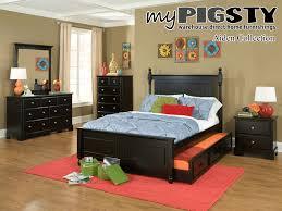 Kids Black Bedroom Furniture Black Kids Bedroom Furniture Raya Furniture
