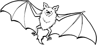 Small Picture Halloween Bat Coloring Pages GetColoringPagescom