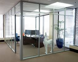 glass office wall. glass wall corner office flex series m