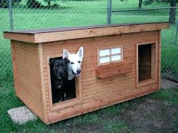 dog house plan s insulated plans for two dogs easy build in pdf format free