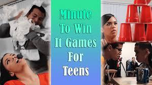 25 minute to win it for teens ton of fun guaranteed babydotdot