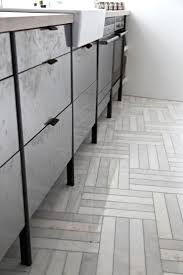 White Marble Kitchen Floor 17 Best Images About Floors Tile On Pinterest Herringbone
