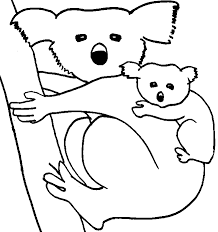 Small Picture Koala coloring page Animals Town animals color sheet Koala