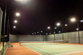 led outdoor lighting for tennis and sport courts