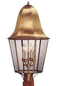 handmade outdoor lighting. waylon post light outdoor copper lantern handmade lighting
