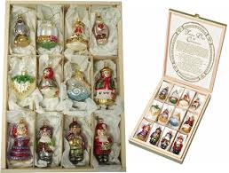 Holiday Time Christmas Ornaments Traditional 60mm Shatterproof Christmas Ornament Sets