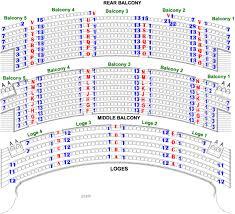 Venue Seating Akron Civic Theatre