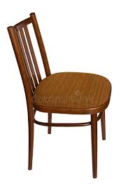 wooden chair side view. ordinary chair, side view. wooden chair view