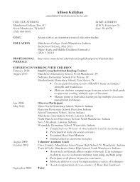 Teacher Curriculum Vitae Gorgeous Sample Special Education Teacher Resume Sample Resume For Special