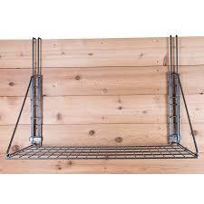 Fold Up Shelf Easy Upar Pro Series Fold Up Hanging Shelf With Adjustable Hangers